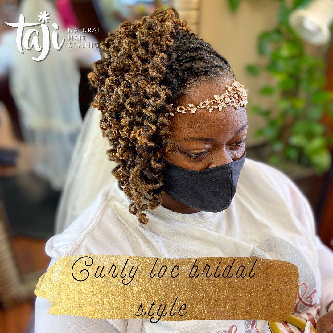 Black hairstyles wedding dreadlocks locs