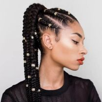 natural hairstyles braids NHP approved