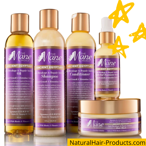 Hair growth oils for black women. The Mane Choice.