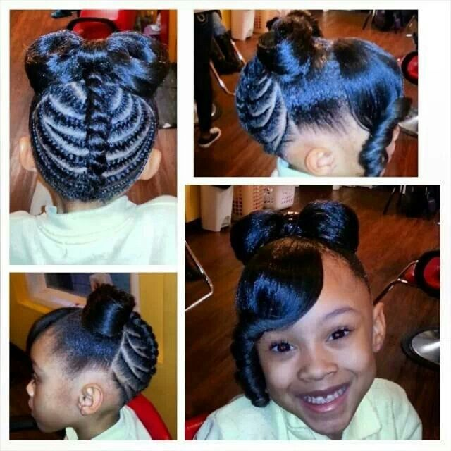black hairstyles for girls