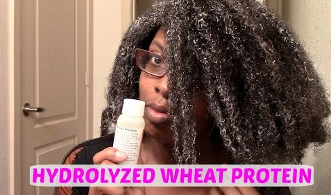 hydrolyzed wheat protein for protein sensitive hair natural products