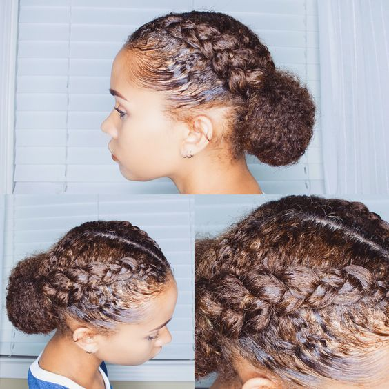 Click for more protective styles for natural hair braids the latest hairstyle kids hairstyles are easy, quick. See updos on medium length to long 3C hair, simple styles no weave edges, also grab...