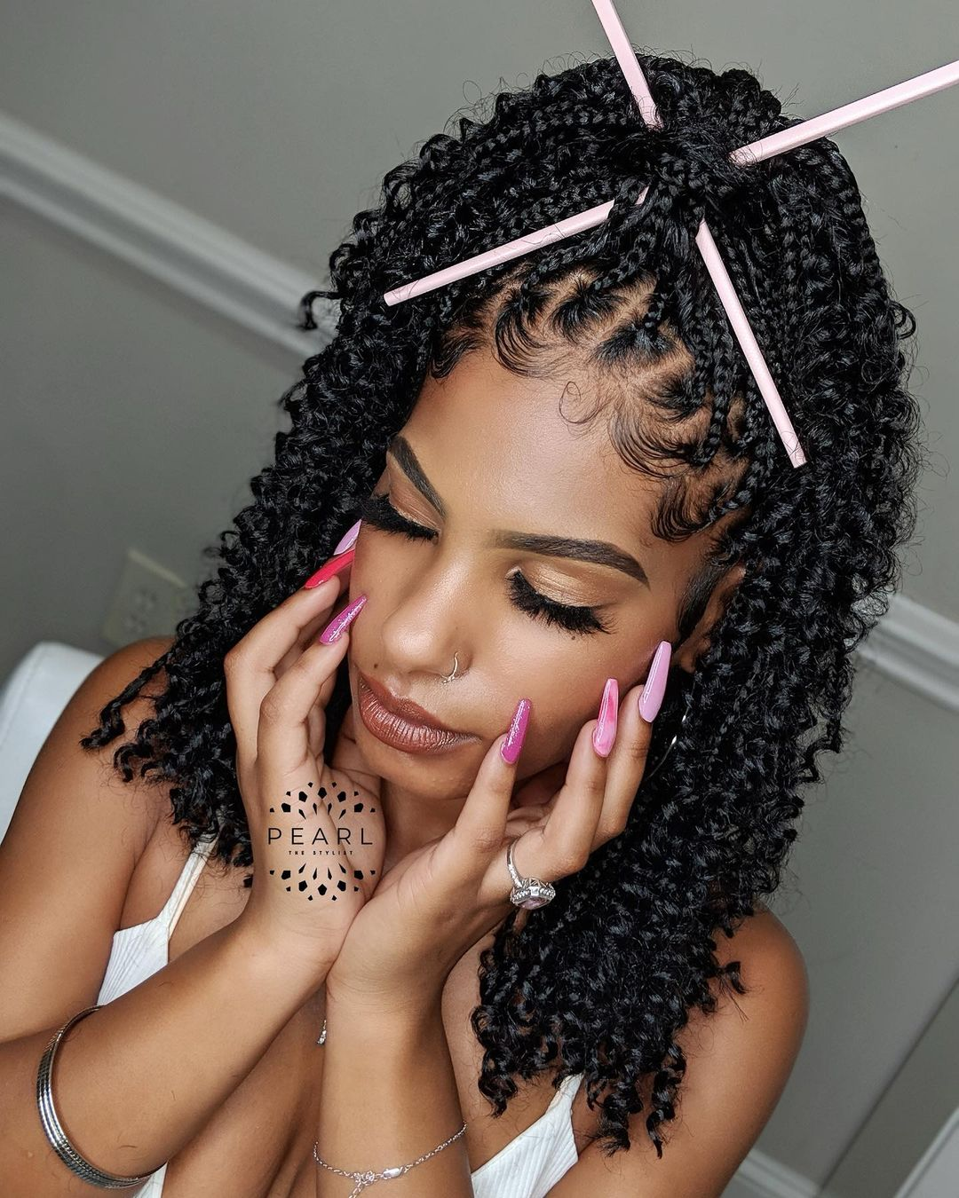 braided hairstyles NHP Approved black hairstyle