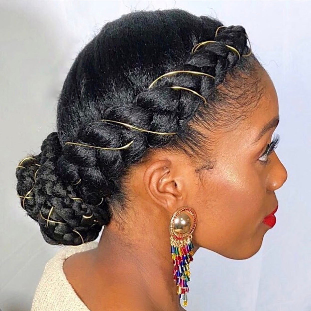 Click to SEE MORE protective styles for natural hair braids latest & easy hairstyles for black women. See updos on medium length to long hair, simple transitioning hairstyles for wedding, also SEE...