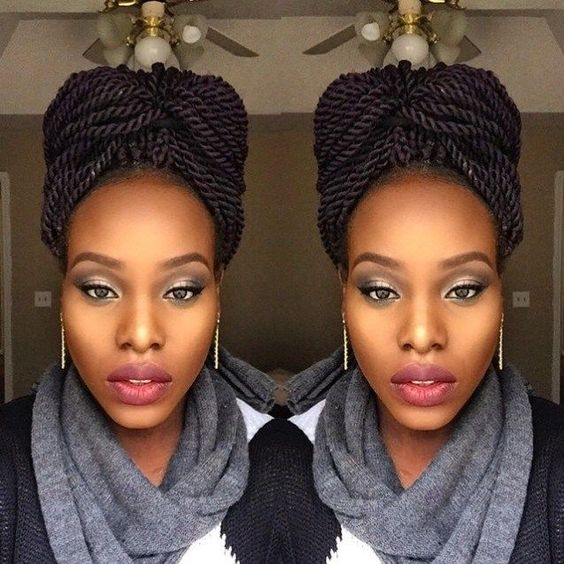 These Senegalese twist styles updos are fit for a wedding or bridal party. Natural hairstyles like these are not only protective styles, but they help you grow your hair and...