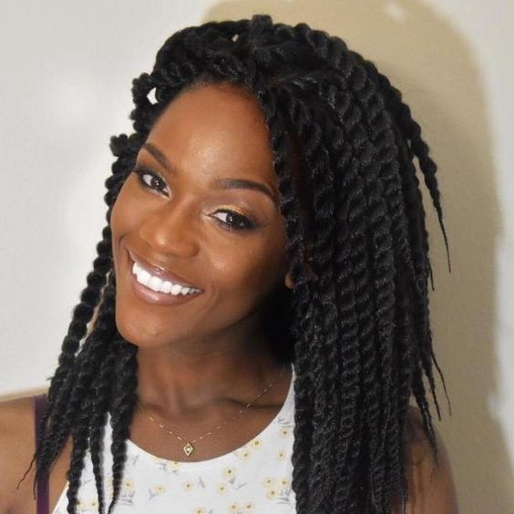 I'm feeling these Black natural hair twist hairstyles, they really display the color very well and help you stand out from the crowd. Look at your best...