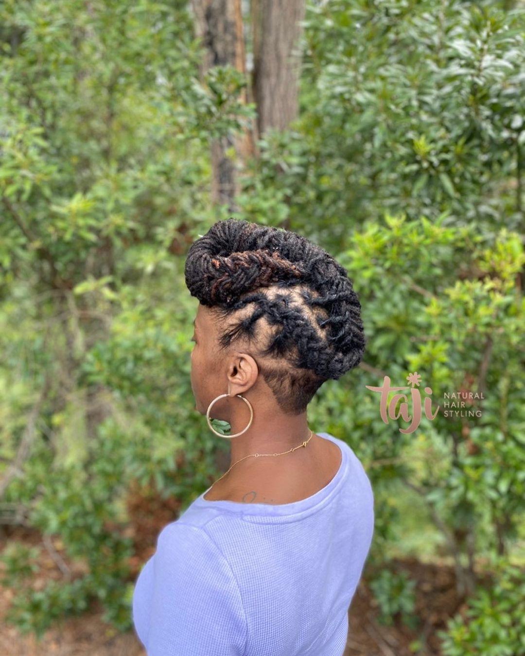 Black hairstyles dreadlocks for women