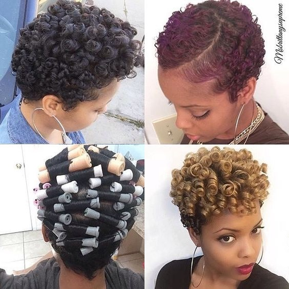 perm-rod-set-on-natural-hair-picture-flexirod-curlers-black kinky curly type 4a 4b 4c 3c