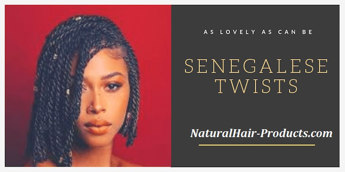 I feel like short Senegalese twist crochet braids are a perfect summer hairstyle, some might feel that this looks like a Senegalese twist wig...