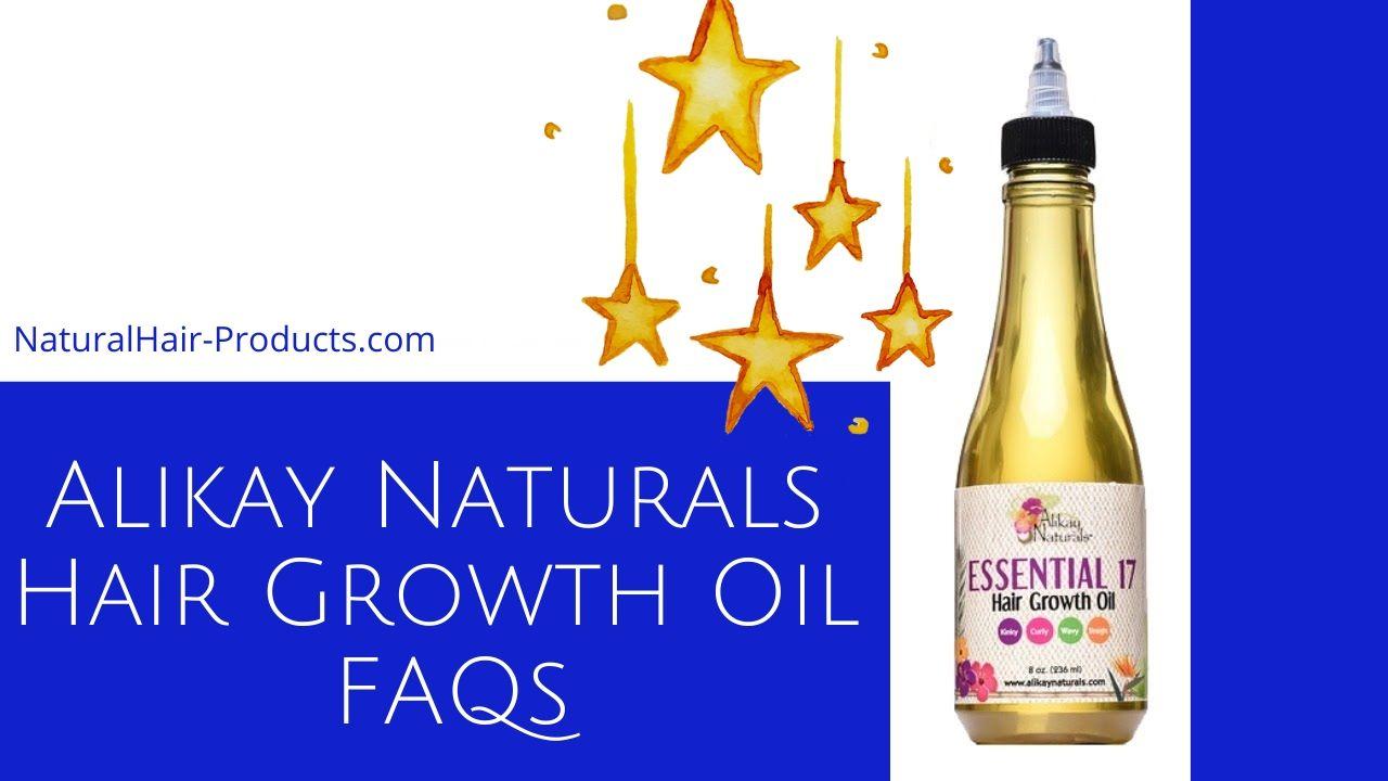Alikay Naturals Hair Growth Oil Reviews faqs