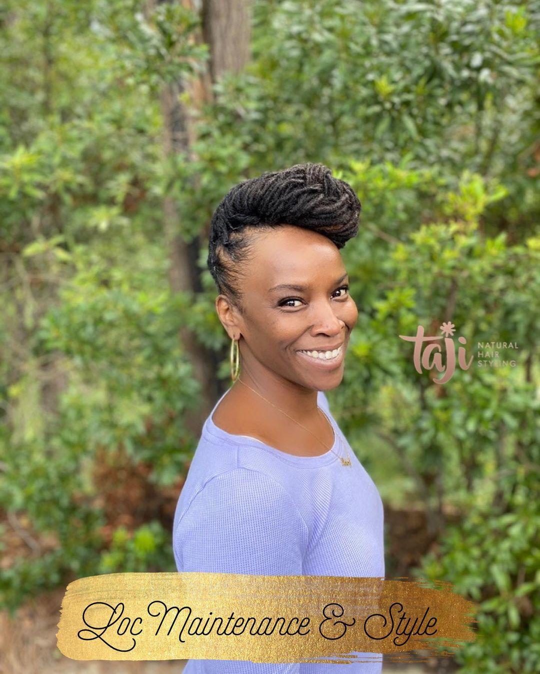 Black hairstyles locs maintenance and style -dreadlocks