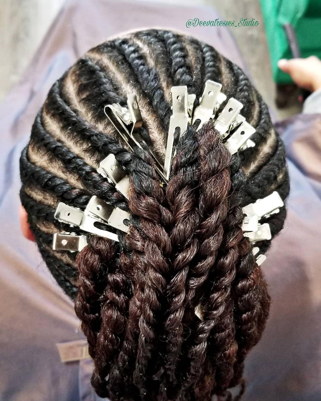 Black hairstyles braids