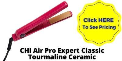 CHI Air Pro Expert Classic Tourmaline Ceramic Flat Iron Flat Iron NHP Approved