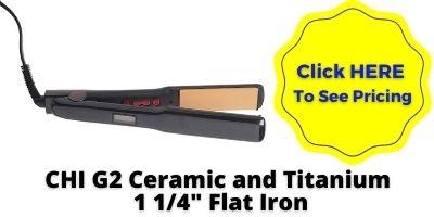 CHI-G2-Ceramic-Titanium Straightening-iron-nhp-approved Flat Iron nhp