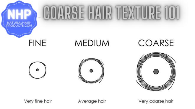 Coarse hair NHP