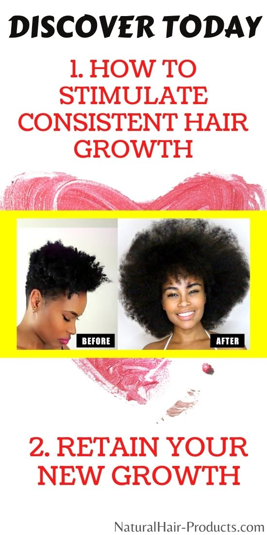 How to make hair grow faster. 2 rules stimulate growth and retain new growth length.