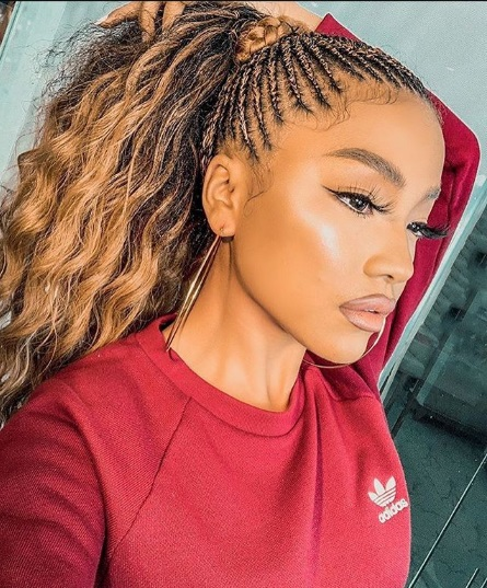21 Quick Braid Hairstyles With Weave Nhp