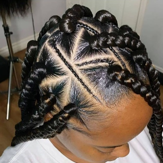 quick--thick- braid-hairstyles-with-weave - melanin-poppin-black-girl-magic hairsstyle