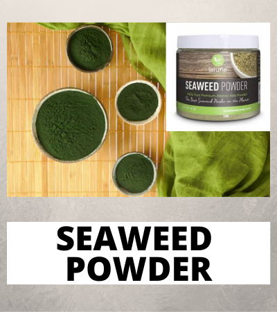 Irish sea moss for hair growth - seaweed powder