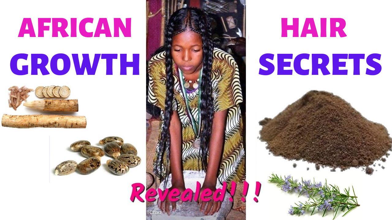 African herbs for hair growth, natural hair growth herbs promote length and healthy black natural hair growth...