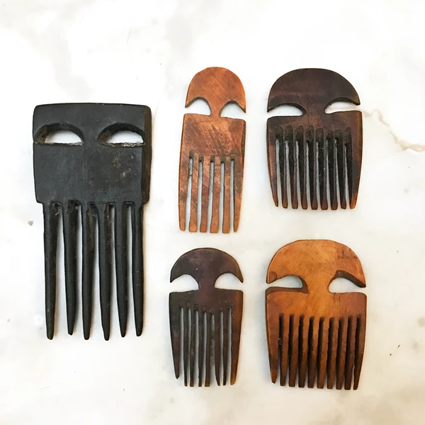 African hair combs