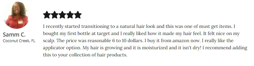 Alikay Naturals Hair Growth Oil Reviews  essential 17 growth oil
