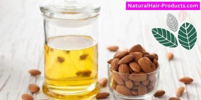 aloe vera and almond oil for hair growth. nut oils