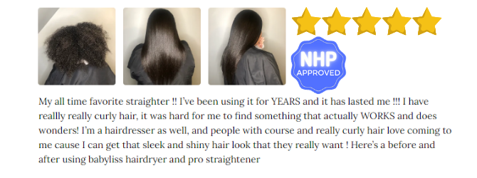 Babyliss flat iron pro review NHP Aprroved #1