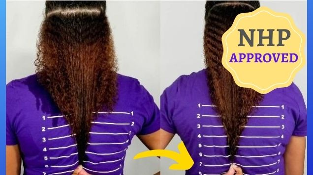 hair growth products before and after pictures nhp approved