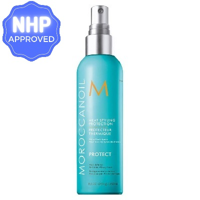 best heat protectant for natural hair  Moroccanoil #2