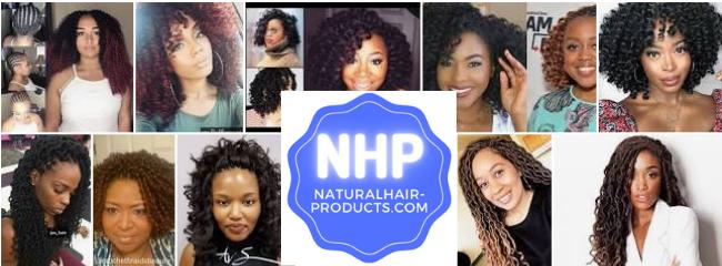 Crochet braids NHP natural hair products