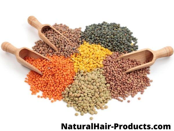 Food for hair growth - lentils #1
