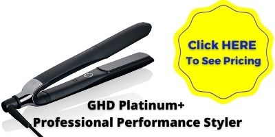 GHD FLAT IRON - The GHD Platinum+ Professional Performance Styler