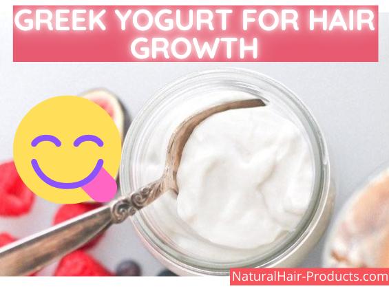 Greek yogurt for hair growth taste delicious - happy face smiley - NHP