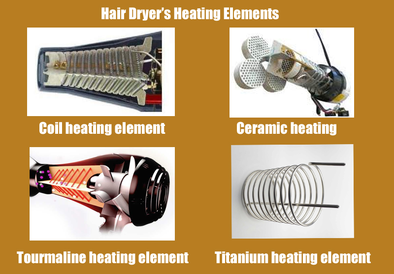 hair-dryer-heating-elements-tourmaline-titanium-ceramic-coil-heating-blow-dryer-types-heat