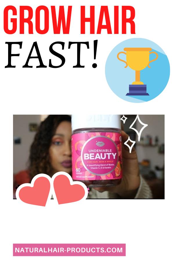OLLY Undeniable Beauty Gummy Hair Growth Vitamins