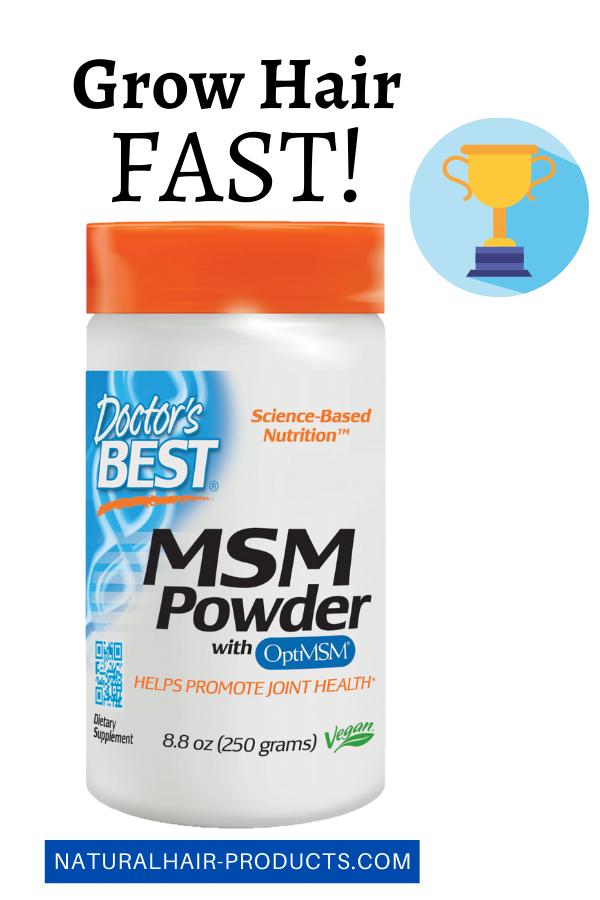 hair growth vitamins MSM powder