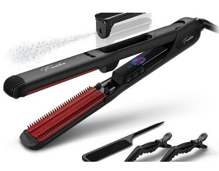 flat iron with built in comb teeth how-to-flat-iron-natural-hair-built-in-comb