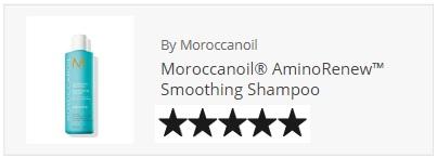 Moroccanoil smoothing shampoo aminorenew