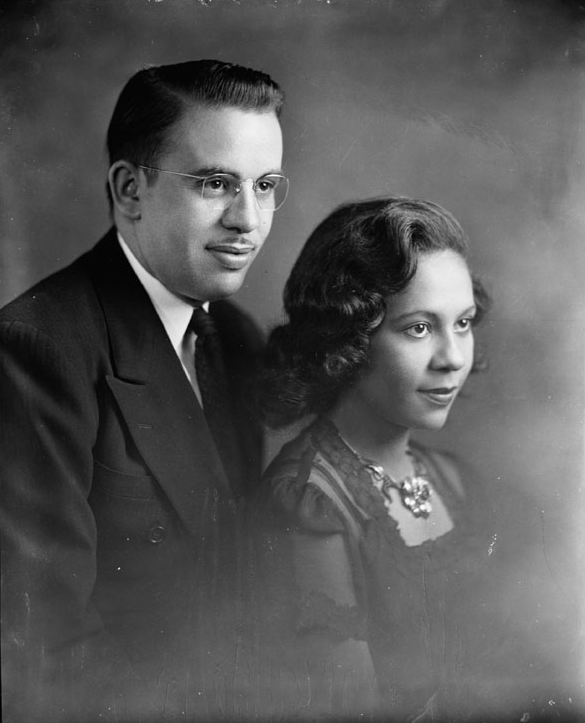 mulatto man and woman - black hair media
