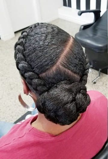Click for protective styles for natural hair braids latest hairstyle elegant bridal for black women. See updos on medium length to long hair, simple wedding hairstyles & cute edges, also grab...