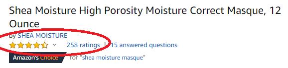 Shea Moisture High Porosity Review