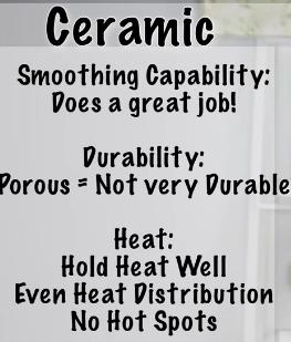 ceramic flat iron tips