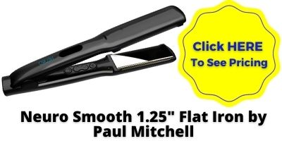 Titanium Flat Iron Neuro Smooth 1.25