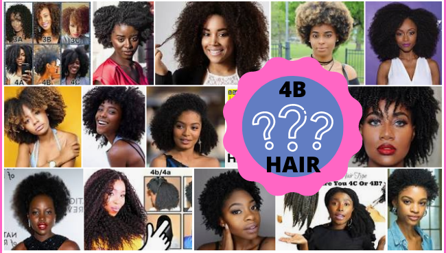 What is 4b hair texture type