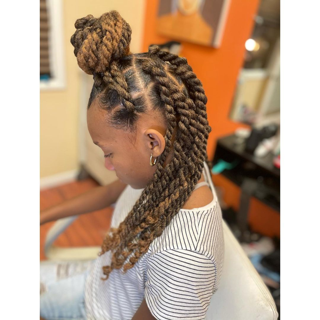 Twist hairstyles natural and weave extensions NHP Approved