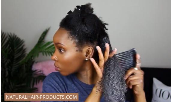 4d hair type detangling