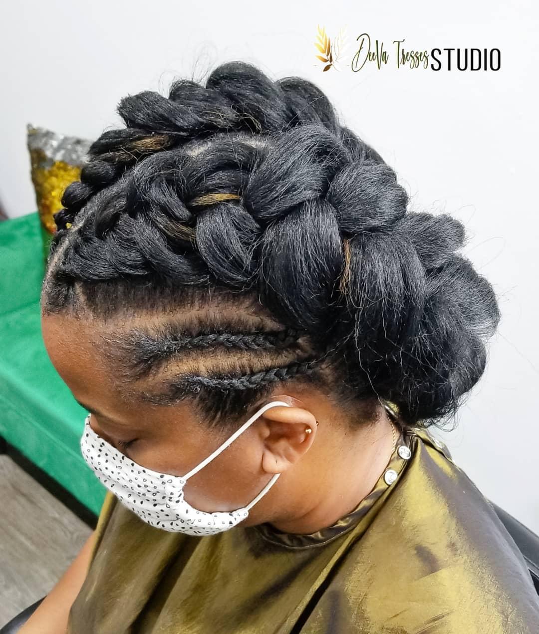 Black hairstyles braids for black females