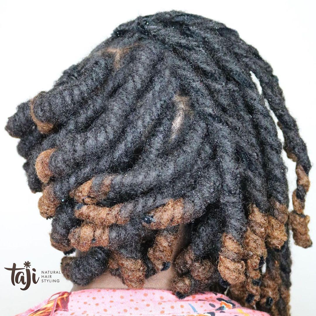 black hairstyles asymmetrical loc Bob
