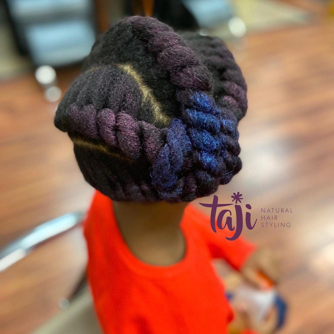 black hairstyles kids NHP Approved